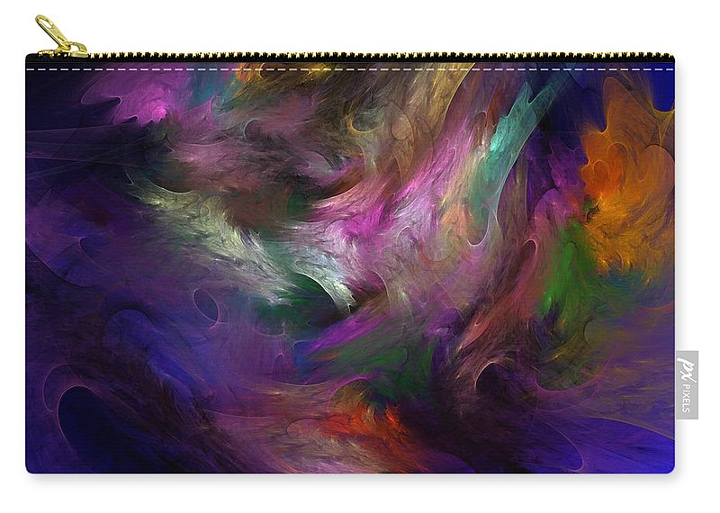 Fantasy Carry-all Pouch featuring the digital art Untitled 01-12-10 by David Lane