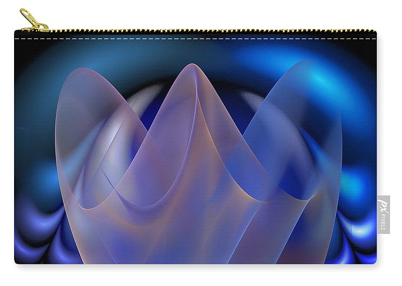 Digital Painting Carry-all Pouch featuring the digital art Untitled 01-15-10-d by David Lane