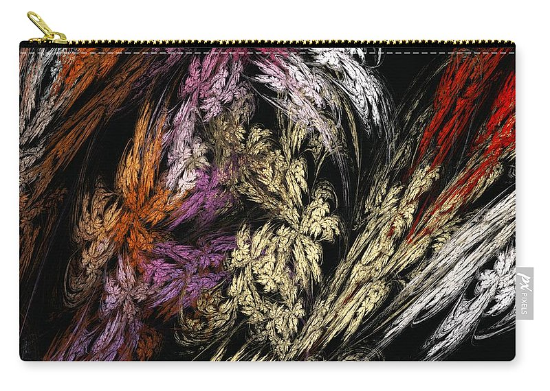 Fantasy Carry-all Pouch featuring the digital art Untitled 02-05-10 by David Lane