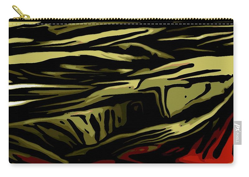 Digital Painting Carry-all Pouch featuring the digital art Untitled 02-06-10-b by David Lane