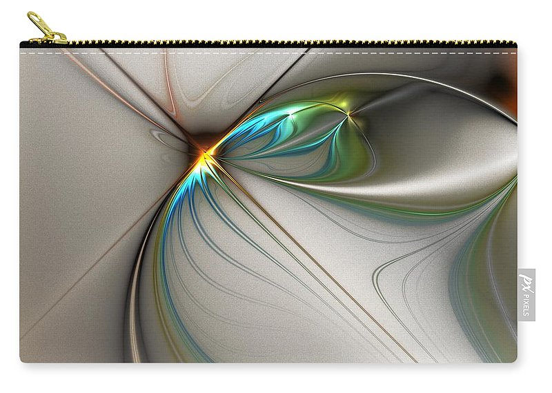 Digital Painting Carry-all Pouch featuring the digital art Untitled 02-16-10-a by David Lane
