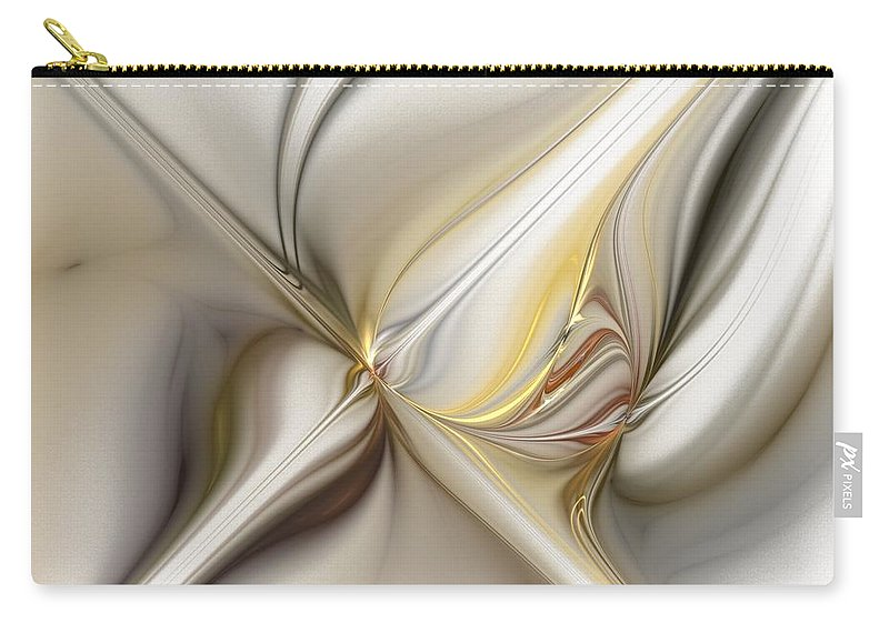 Digital Painting Carry-all Pouch featuring the digital art Untitled 02-16-10 by David Lane