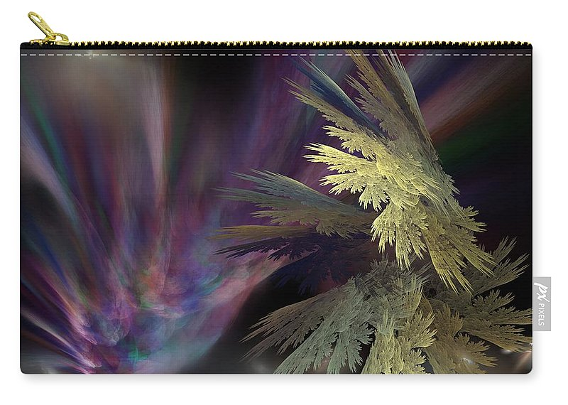 Fantasy Carry-all Pouch featuring the digital art Untitled 12-05-09 by David Lane