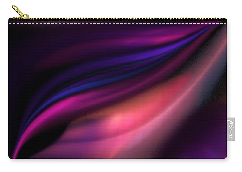 Fantasy Carry-all Pouch featuring the digital art Untitled 12-10-09 by David Lane