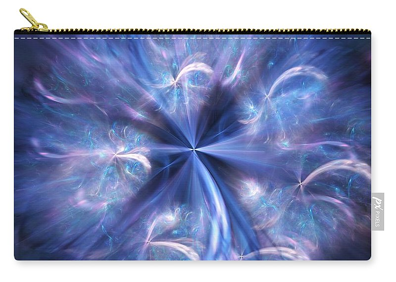 Digital Photography Carry-all Pouch featuring the digital art Untitled 12-13-09 by David Lane