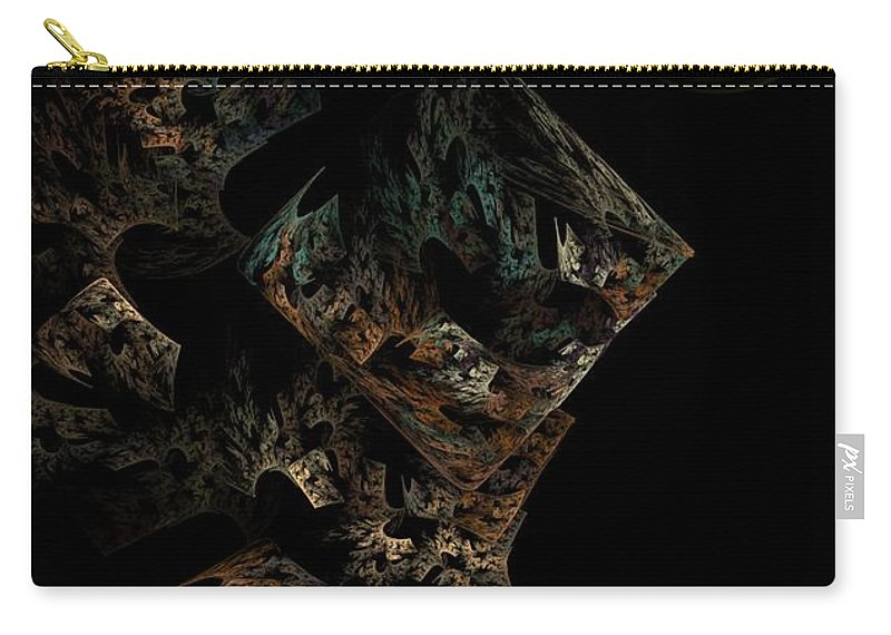Fantasy Carry-all Pouch featuring the digital art Untitled 12-18-09 by David Lane
