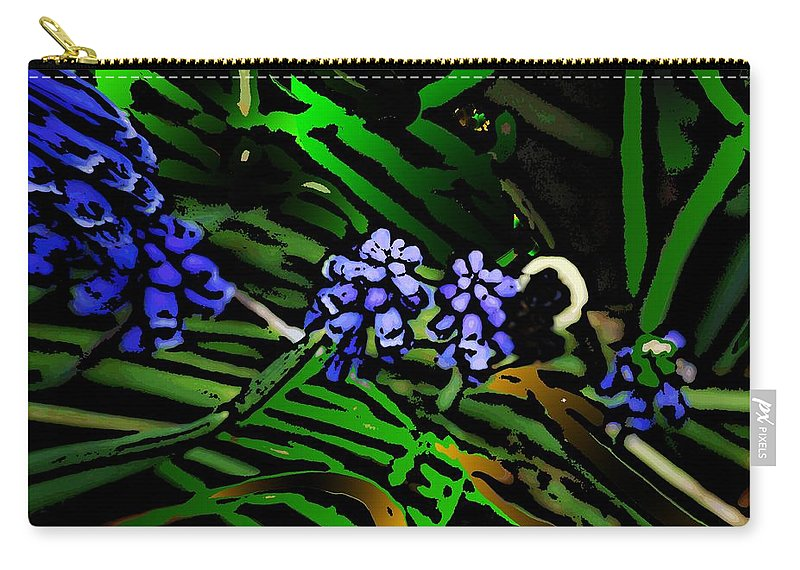 Carry-all Pouch featuring the photograph Untitled 7-02-09 by David Lane