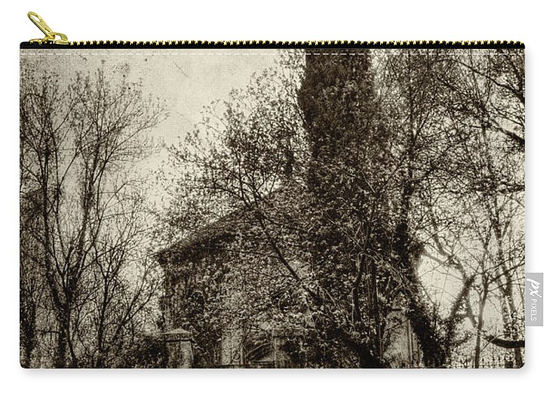 Abandoned Places Carry-all Pouch featuring the photograph Untitled N.96 by Roberto Pagani
