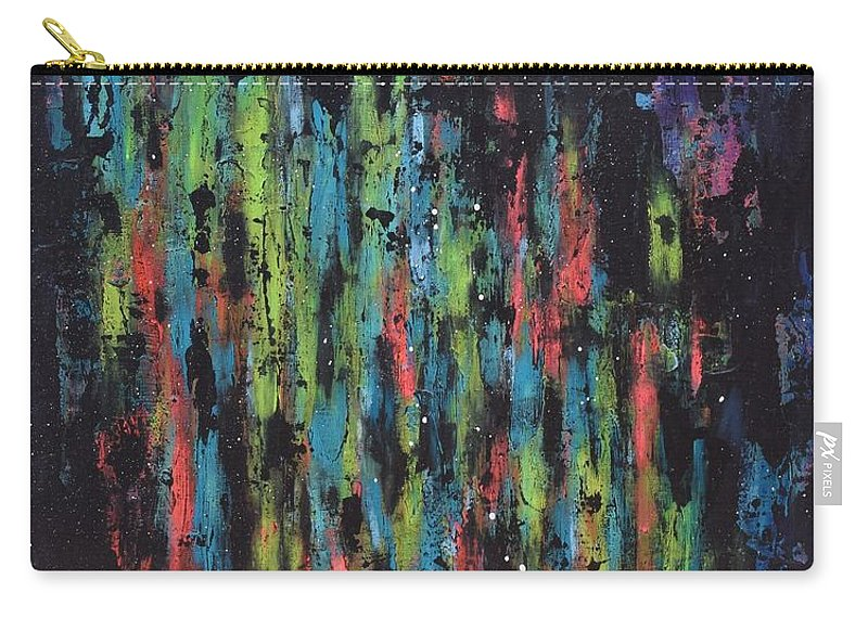 Painting Carry-all Pouch featuring the painting Untitled by Natalie Gates
