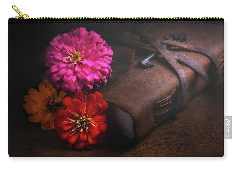 Dahlia Carry-all Pouch featuring the photograph Untold Secrets by Tom Mc Nemar