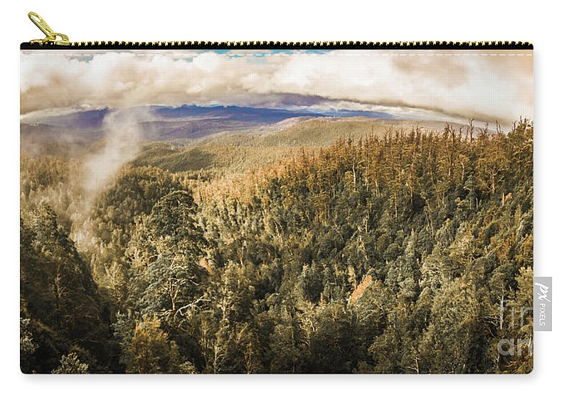 Nature Carry-all Pouch featuring the photograph Untouched Wild Wilderness by Jorgo Photography - Wall Art Gallery