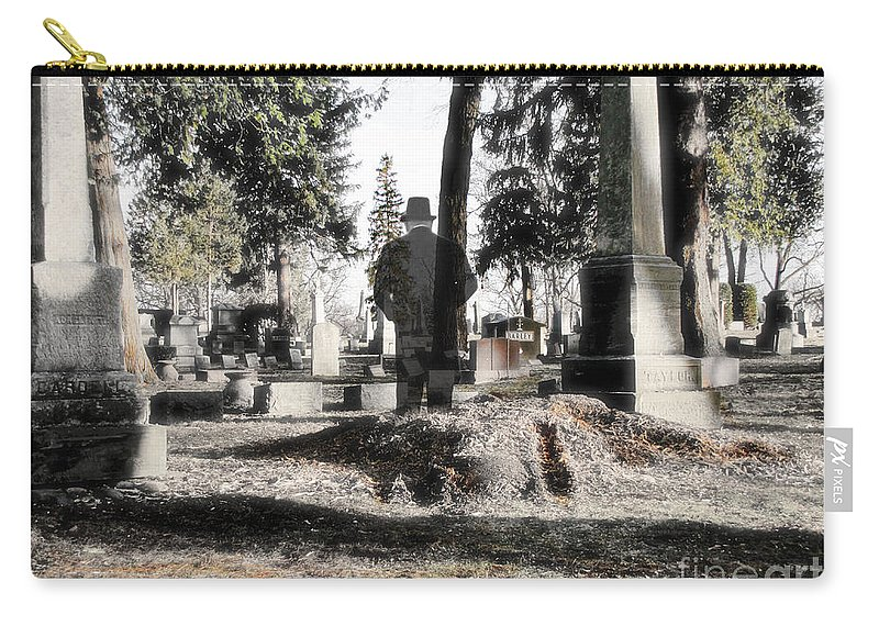 Spirit Carry-all Pouch featuring the photograph Unwilling To Go by September Stone