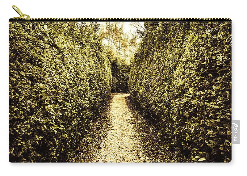 Nature Carry-all Pouch featuring the photograph Up The Garden Path by Jorgo Photography - Wall Art Gallery