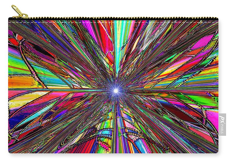 Up Carry-all Pouch featuring the digital art Up by Tim Allen