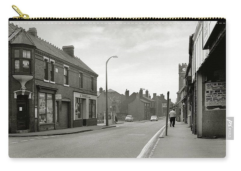 Hart Photography Carry-all Pouch featuring the photograph Upper High Street, Lye - 1960's  Ref-63 by William Hart
