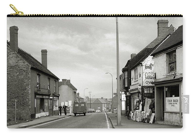 Hart Photography Carry-all Pouch featuring the photograph Upper High Street, Lye - 1960's  Ref-64 by William Hart
