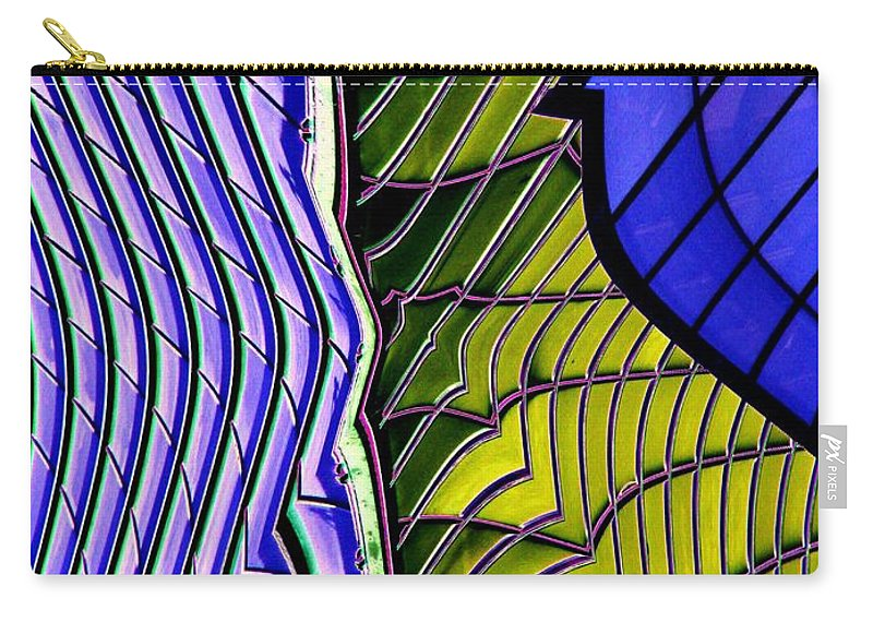 Urban Carry-all Pouch featuring the photograph Urban Abstract 2 by Tim Allen