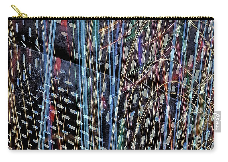 City Carry-all Pouch featuring the photograph Urban Abstract 236 by Don Zawadiwsky