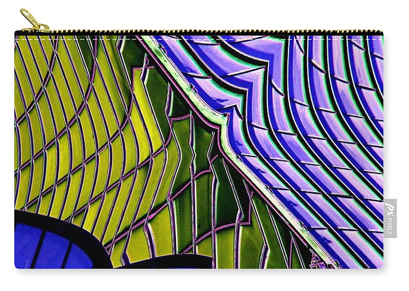 Abstract Carry-all Pouch featuring the photograph Urban Abstract by Tim Allen