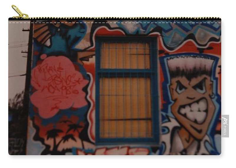 Urban Carry-all Pouch featuring the photograph Urban Art by Rob Hans