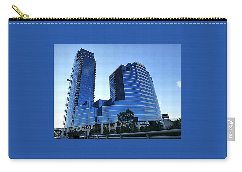 Urban Carry-all Pouch featuring the photograph Urban Castle by Scott Ward
