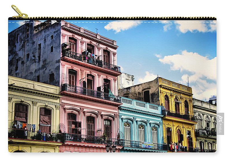 Havana Carry-all Pouch featuring the photograph Urban Havana by Mountain Dreams