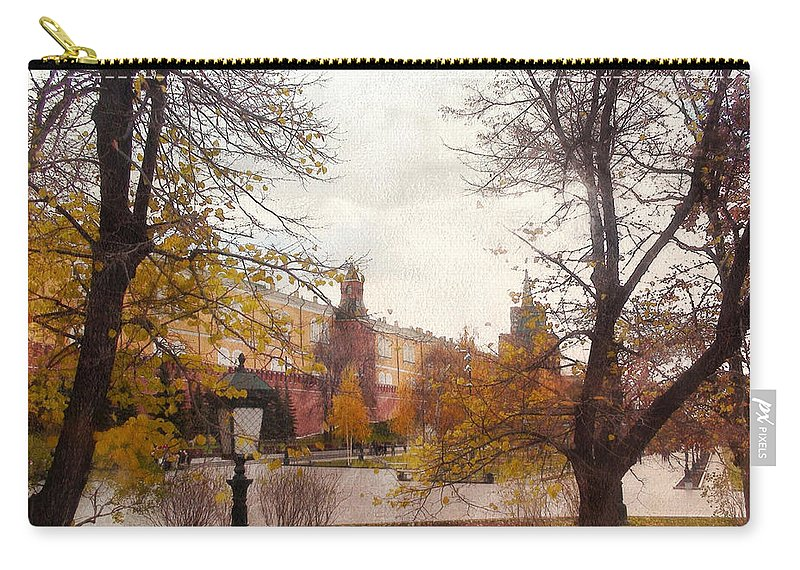 Urban Landscape Carry-all Pouch featuring the photograph Urban Landscape by Sergey Lukashin