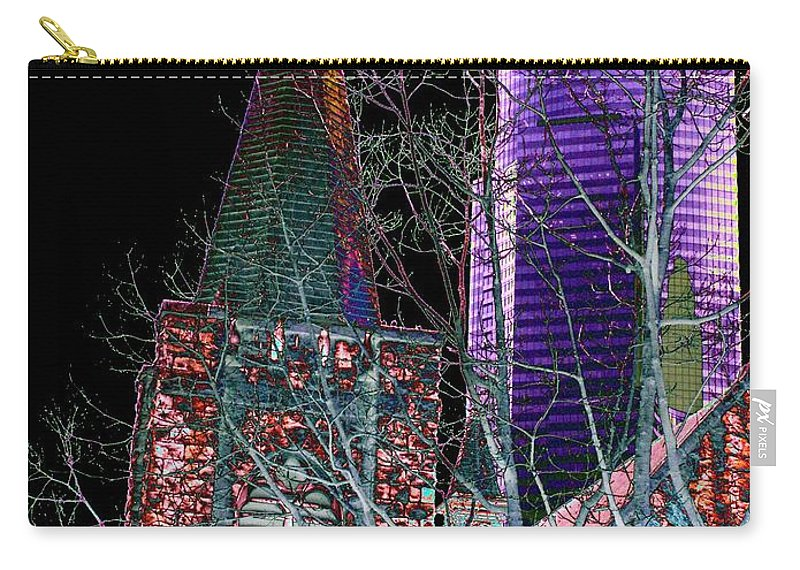 Seattle Carry-all Pouch featuring the photograph Urban Ministry by Tim Allen