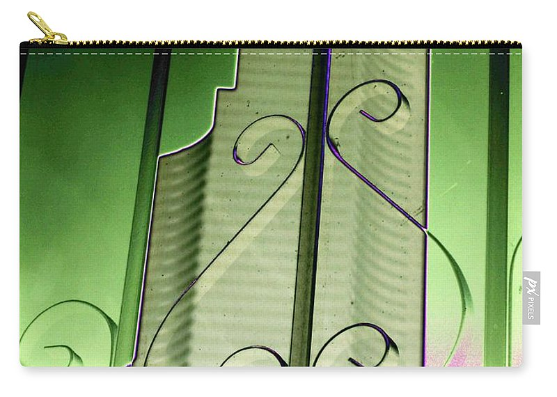 Seattle Carry-all Pouch featuring the photograph Urban Reflection 2 by Tim Allen
