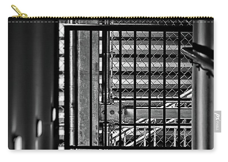Urban Stairway Carry-all Pouch featuring the photograph Urban Stairway by Doug Sturgess