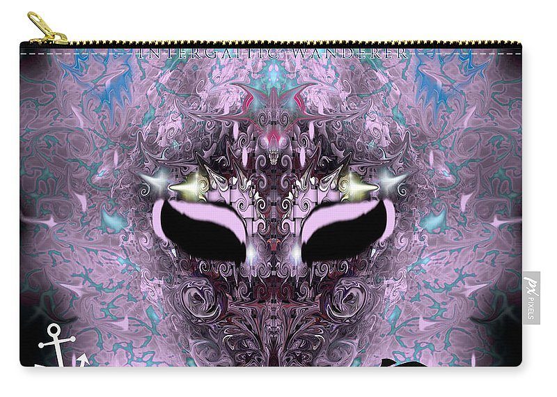 Carry-all Pouch featuring the digital art Uso ? by Subbora Jackson