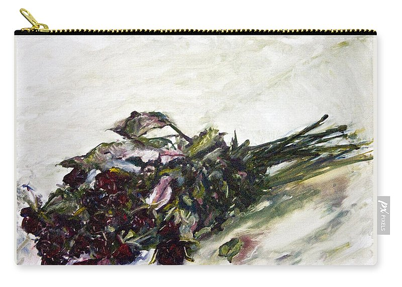 Landscape Carry-all Pouch featuring the painting Ususena Ruze - Po Trech Kouscich A by Pablo de Choros