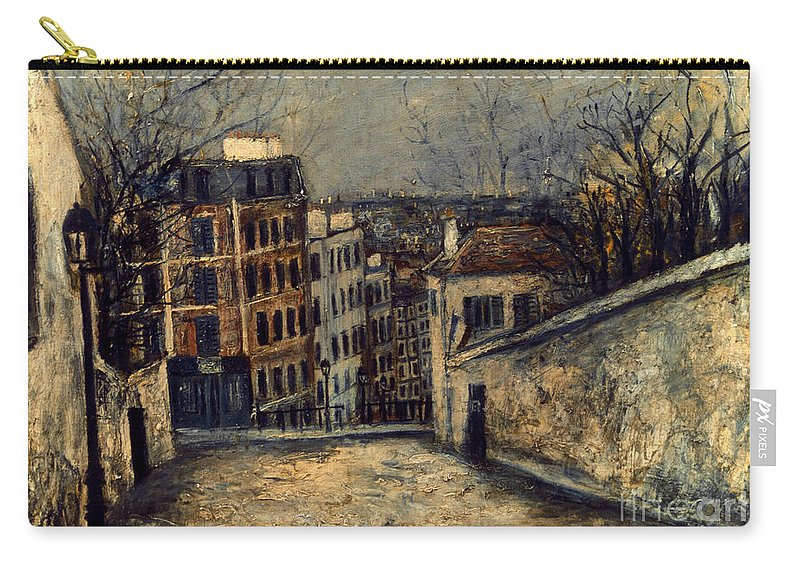 20th Century Carry-all Pouch featuring the photograph Utrillo: Mont-cenis by Granger