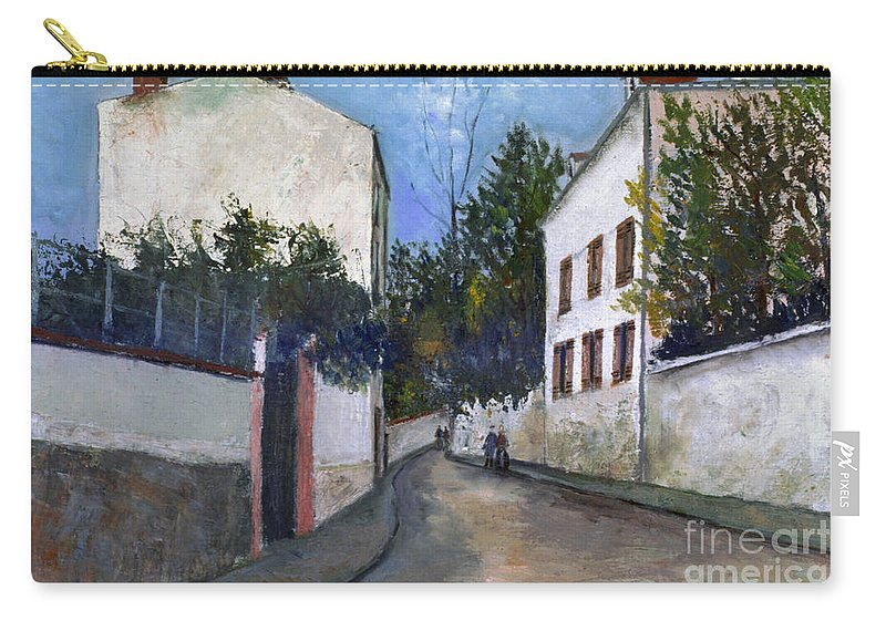 1912 Carry-all Pouch featuring the photograph Utrillo: Sannois, 1912 by Granger