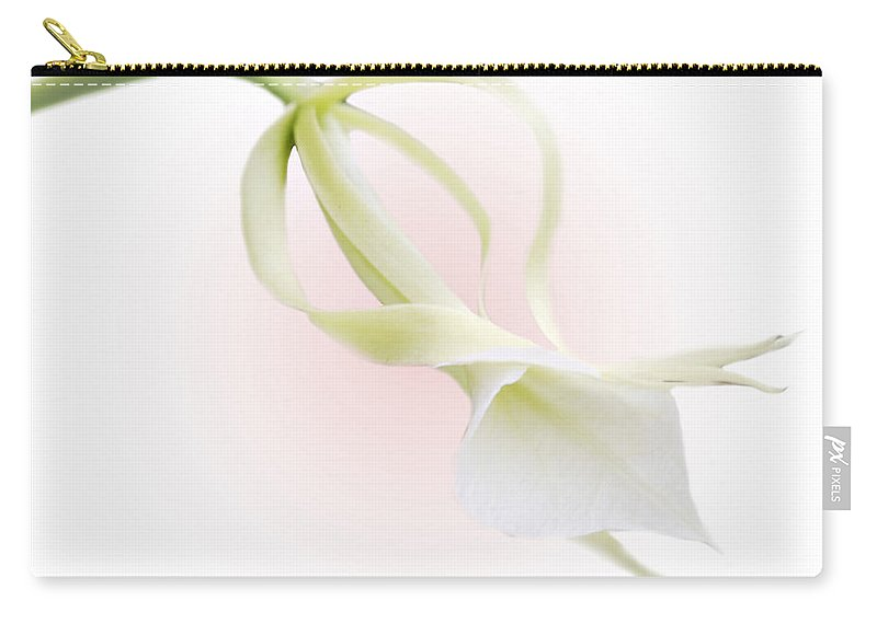 Love Carry-all Pouch featuring the photograph Valentine Orchid by Marilyn Hunt