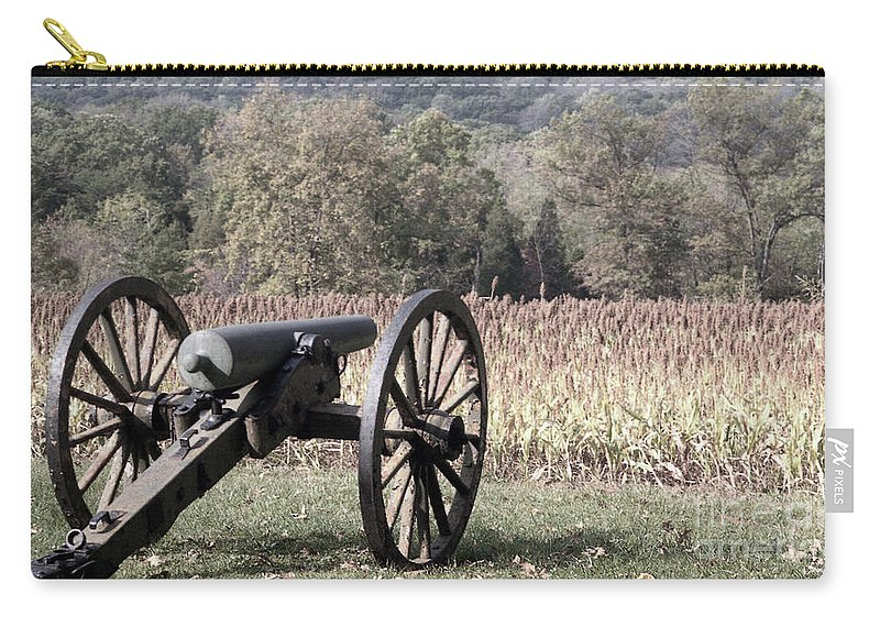 Gettysburg Carry-all Pouch featuring the photograph Valley Of Death by Richard Rizzo
