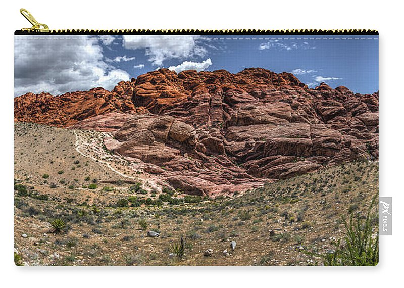 Desert Carry-all Pouch featuring the photograph Valley Of Fire IIi by Patrick Boening