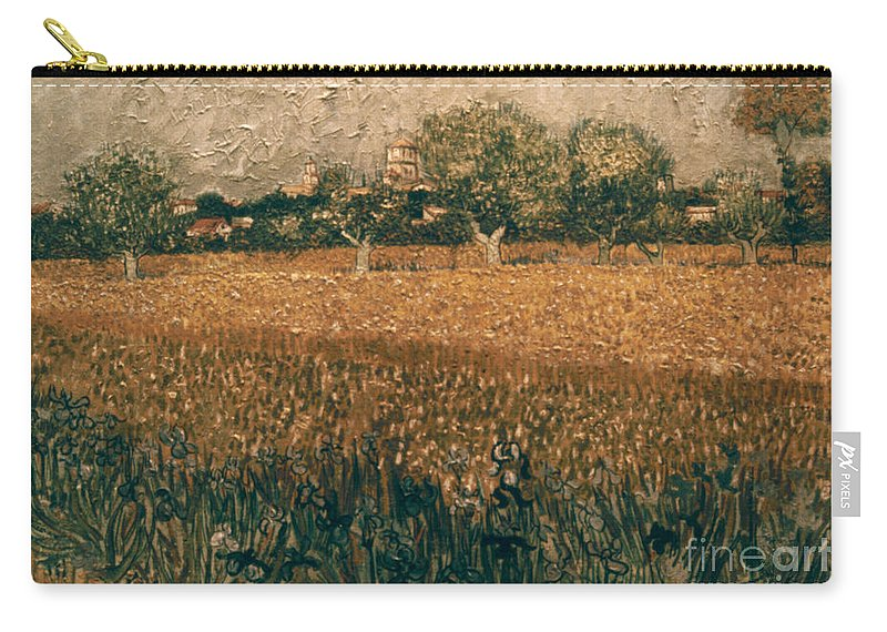 1888 Carry-all Pouch featuring the photograph Van Gogh: Arles, 1888 by Granger