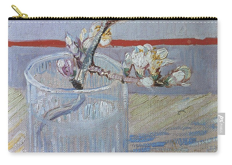 1888 Carry-all Pouch featuring the photograph Van Gogh: Branch, 1888 by Granger
