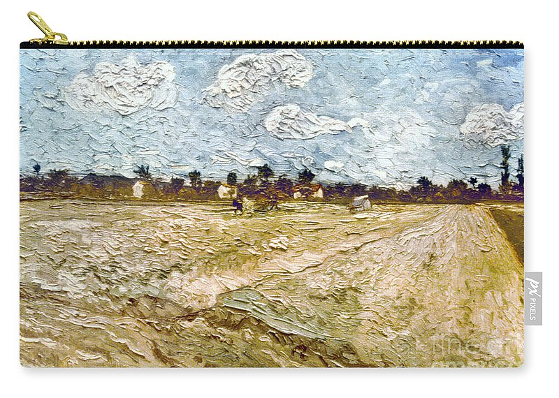 1888 Carry-all Pouch featuring the photograph Van Gogh: Fields, 1888 by Granger