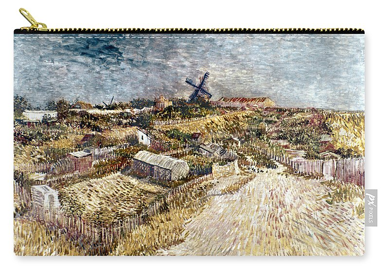 1887 Carry-all Pouch featuring the photograph Van Gogh: Gardens, 1887 by Granger