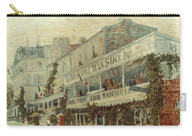1887 Carry-all Pouch featuring the photograph Van Gogh: La Sirene, 1887 by Granger