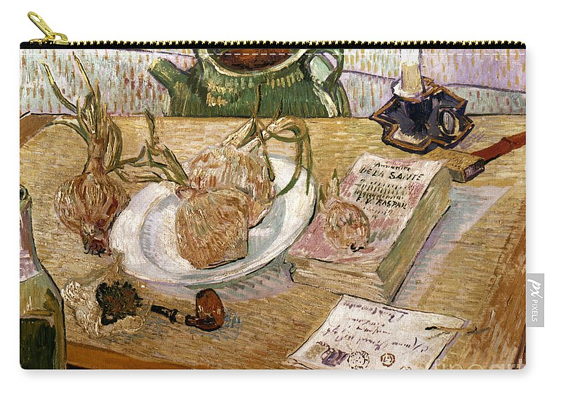 1889 Carry-all Pouch featuring the photograph Van Gogh: Still Life, 1889 by Granger