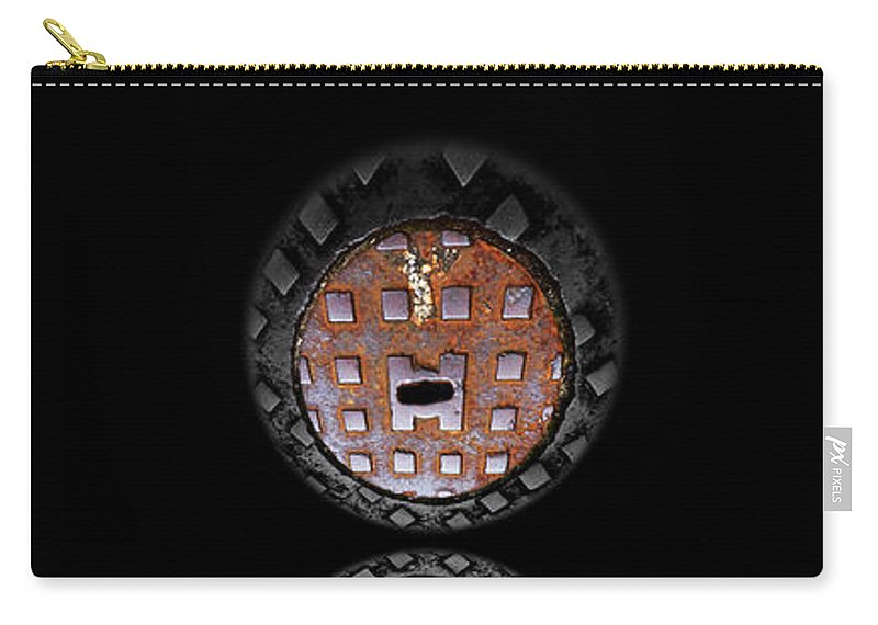 Face Carry-all Pouch featuring the photograph Vanity by Charles Stuart