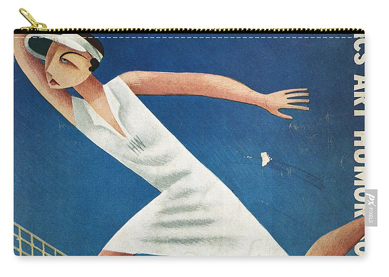 1932 Carry-all Pouch featuring the photograph Vanity Fair, 1932 by Granger