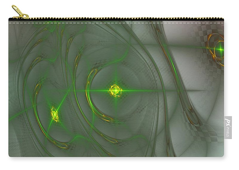 Art Carry-all Pouch featuring the digital art Varpulis by Jeff Iverson