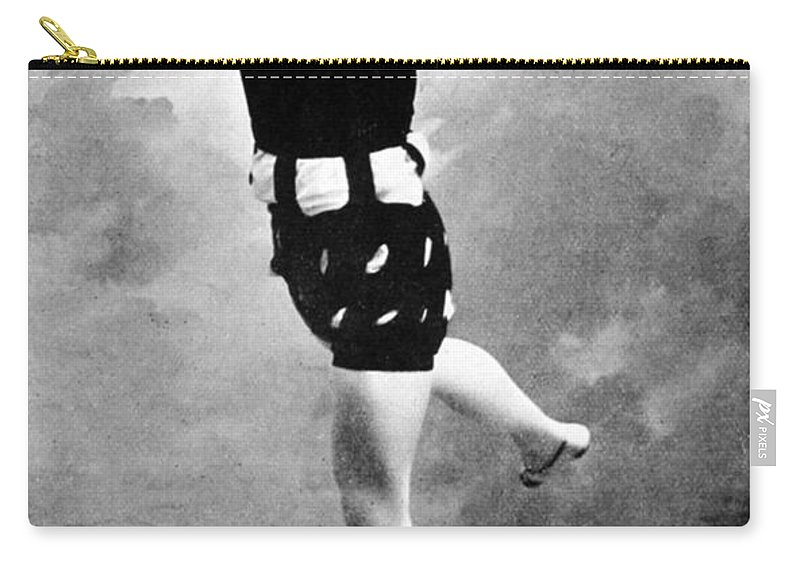 Historic Carry-all Pouch featuring the photograph Vaslav Nijinsky, Ballet Dancer by Wellcome Images