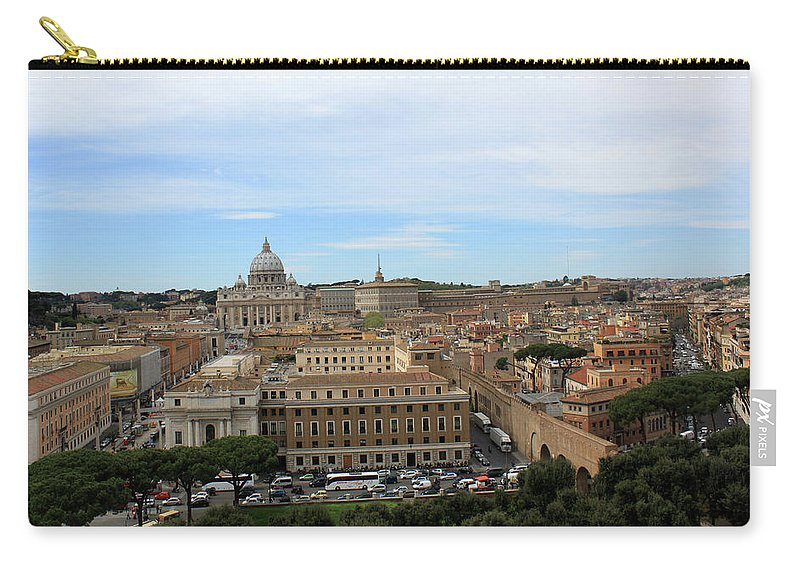 Rome Carry-all Pouch featuring the photograph Vatican In Spring by Munir Alawi