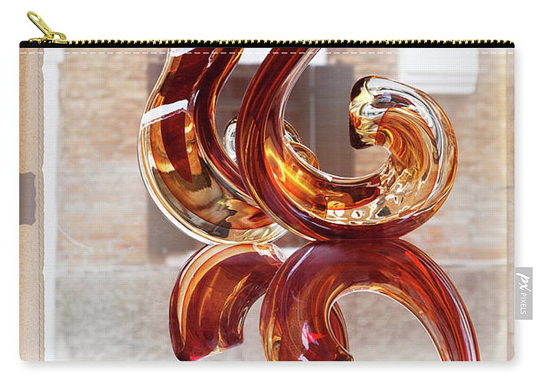 Europe Carry-all Pouch featuring the photograph Venetian Glass Style by Heiko Koehrer-Wagner