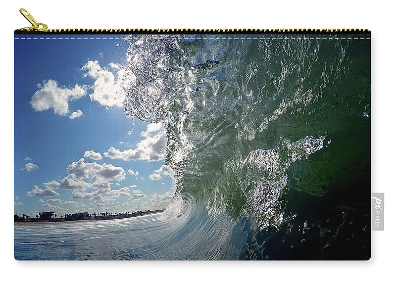 Surf Carry-all Pouch featuring the photograph Venice Beach by Martin Wolfe